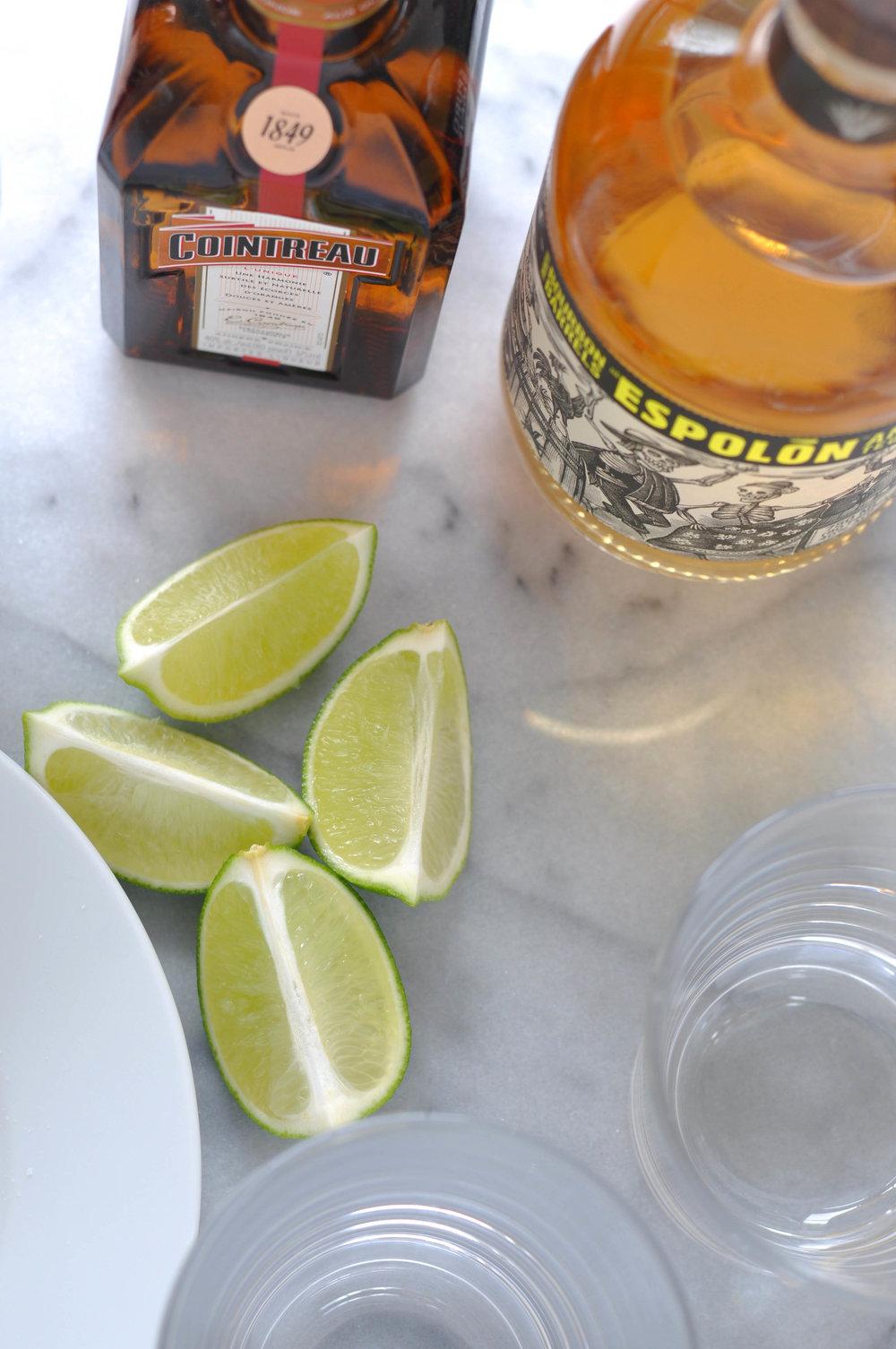 Margarita Essentials - Cointreau, Tequila, Fresh Limes