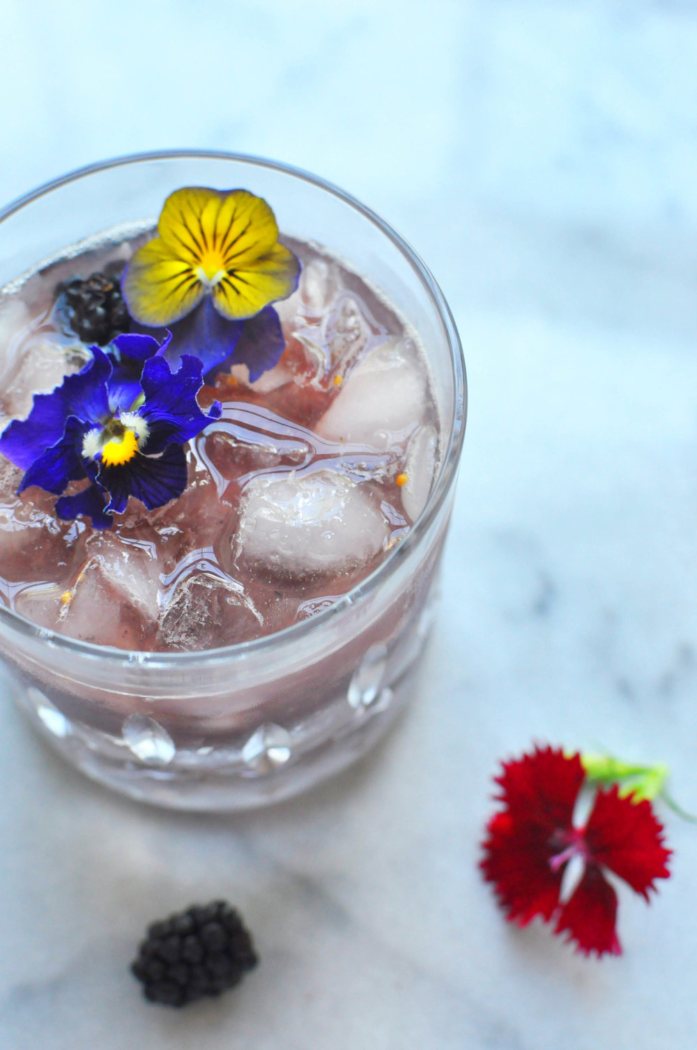 Fig & Blackberry Smash | Shiny Happy Bright