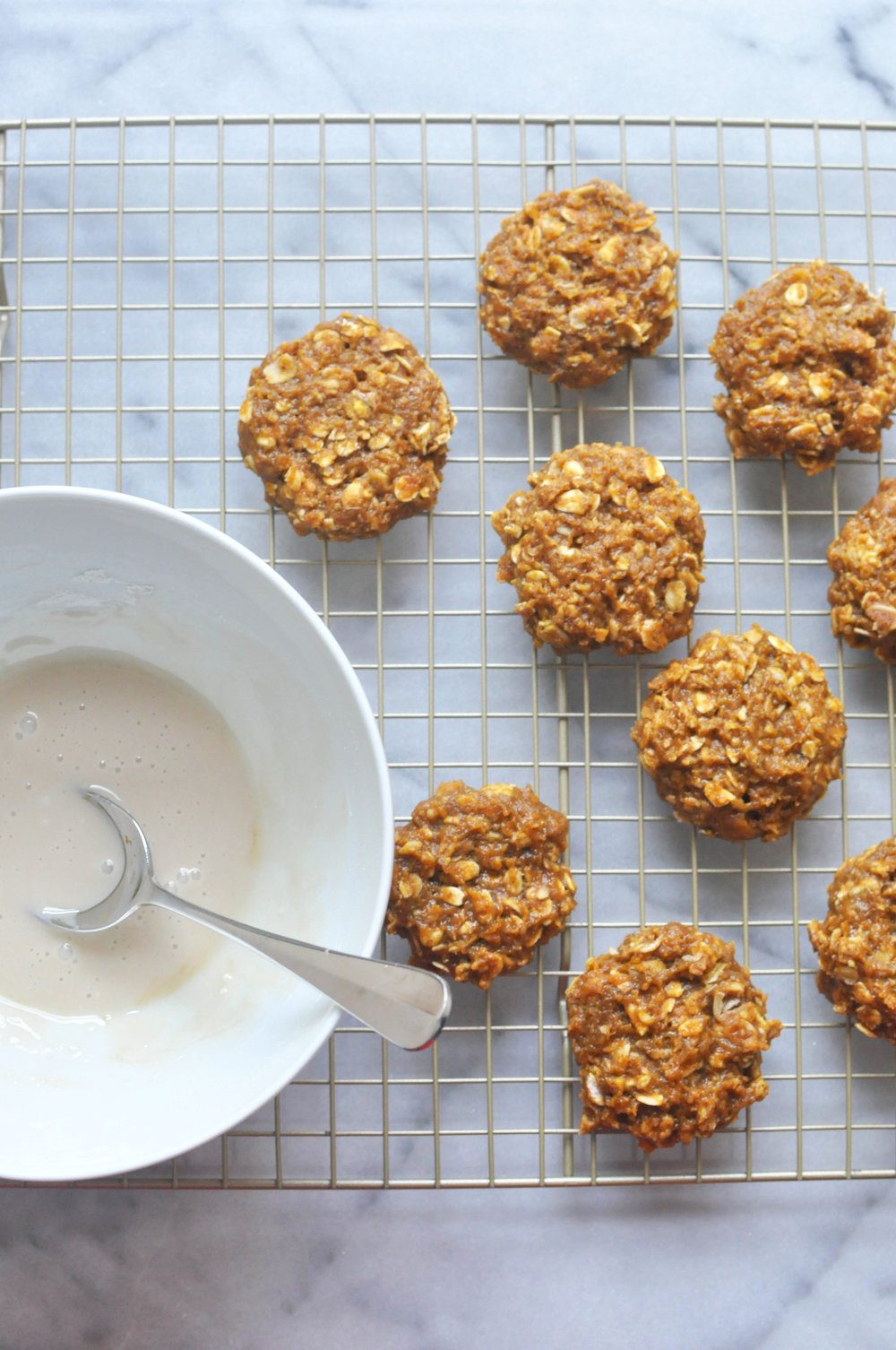 Healthier Pumpkin Spice Cookies - a delicious, fall dessert or snack | Shiny Happy Bright