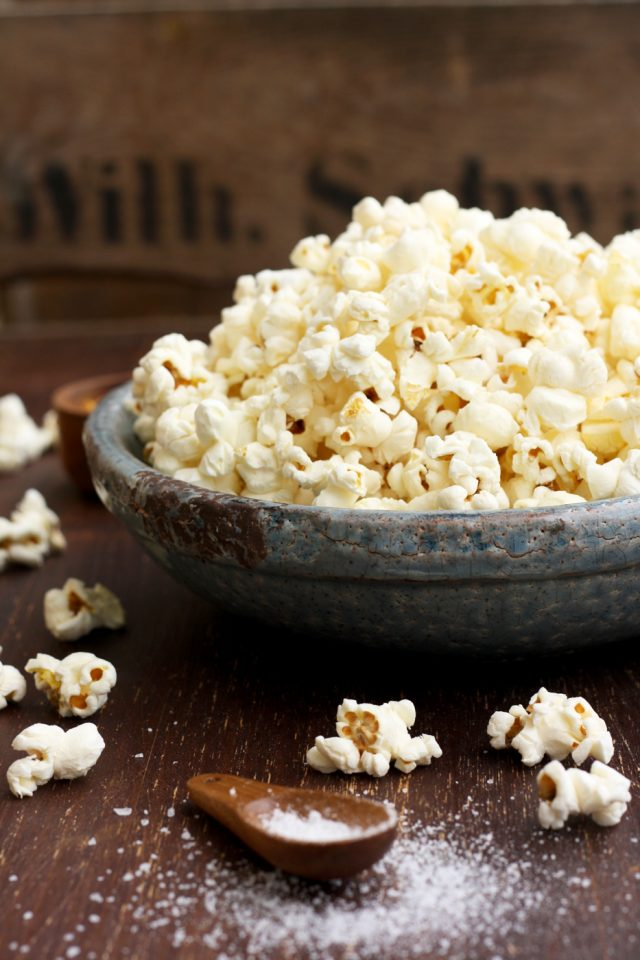 Always Perfect Stovetop Popcorn from Happy Kitchen Rocks