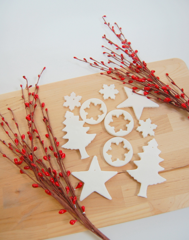 Scented Baking Soda Dough Ornaments from Northstory. Get the instructions here. -