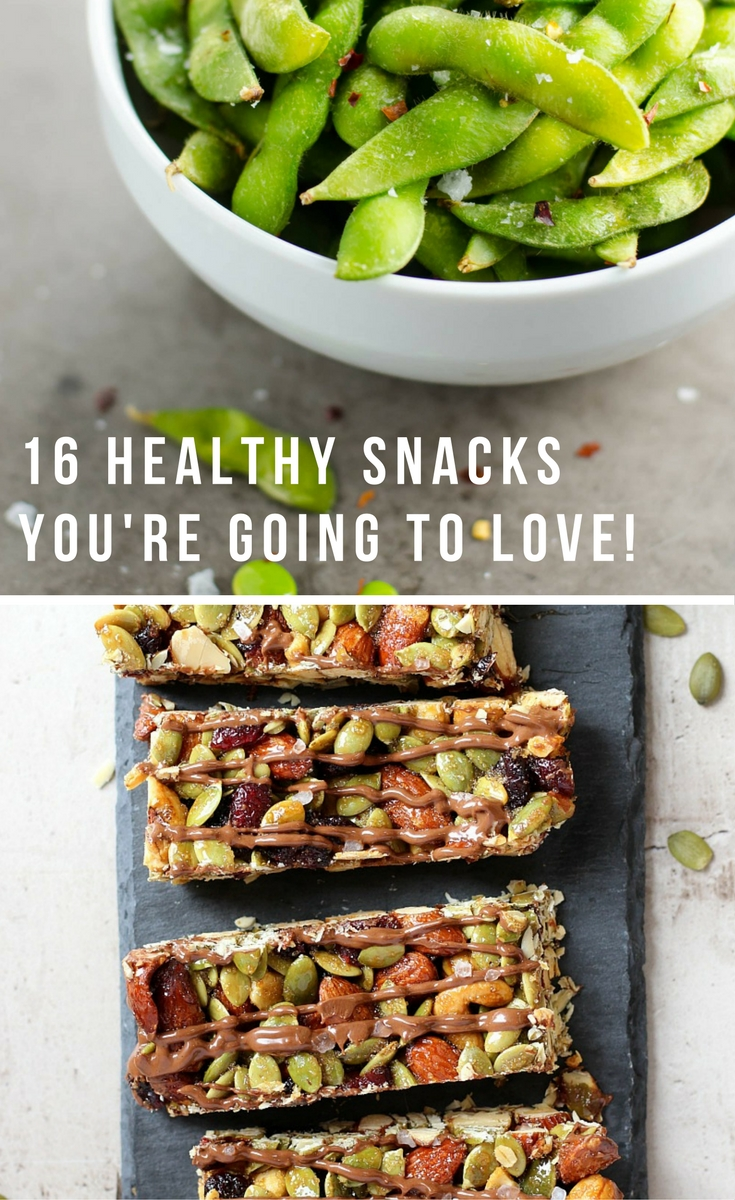 16 healthy snack ideas you are going to love!