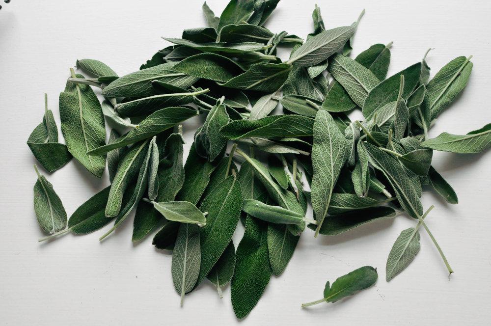 DIY Sage Wreath | This Healthy Table