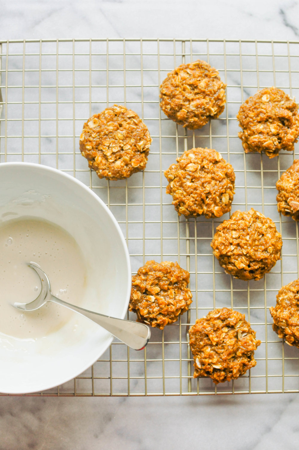 Healthier Pumpkin Spice Cookies - a delicious, fall dessert or snack | This Healthy Table