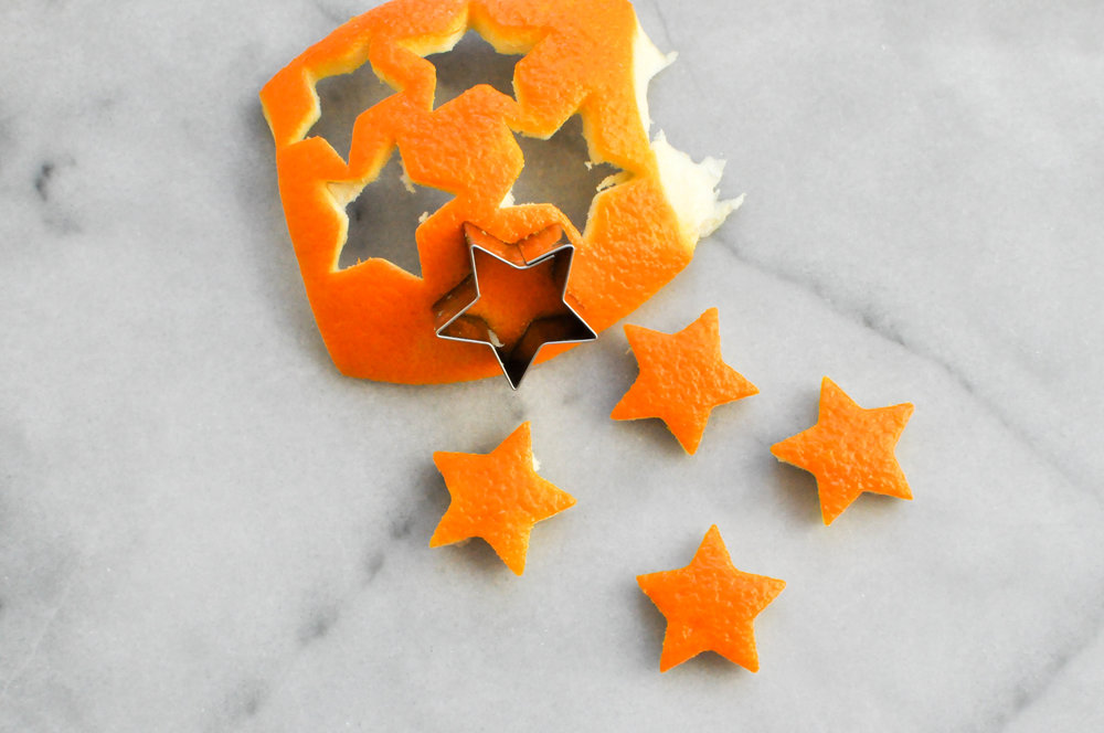 DIY Orange Peel Ornament from This Healthy Table