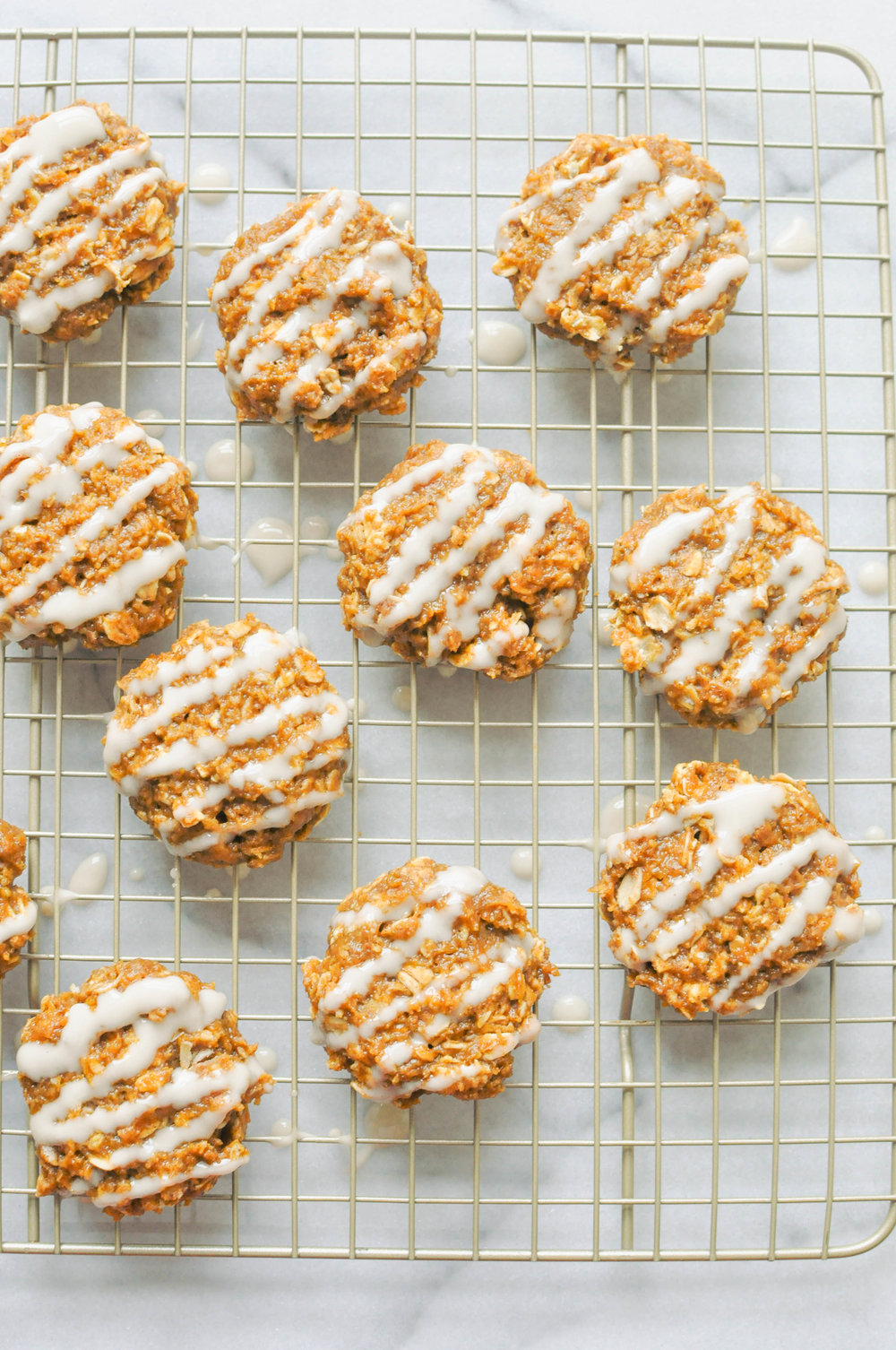 Healthier Pumpkin Spice Cookies