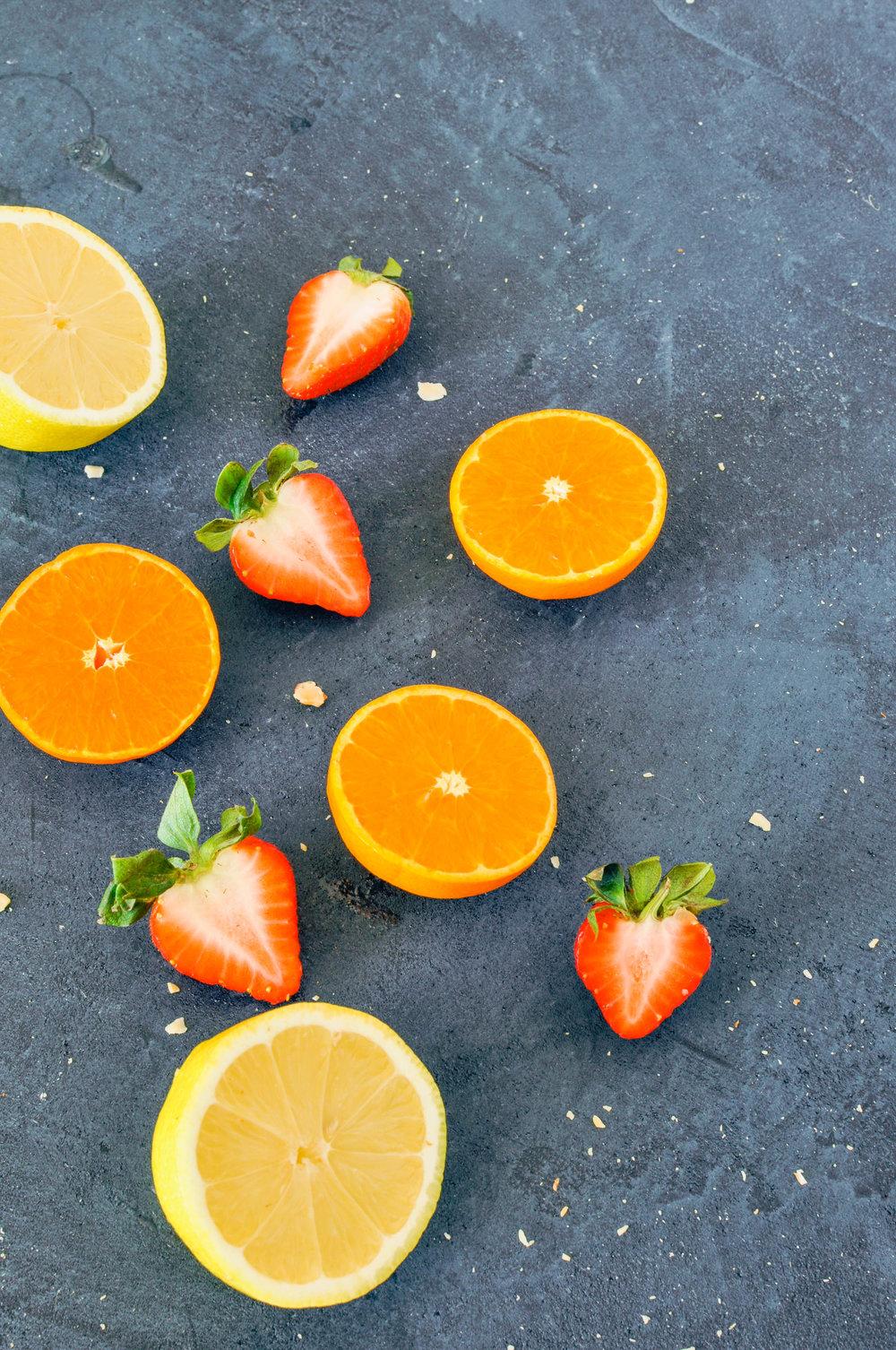 citrus & strawberries