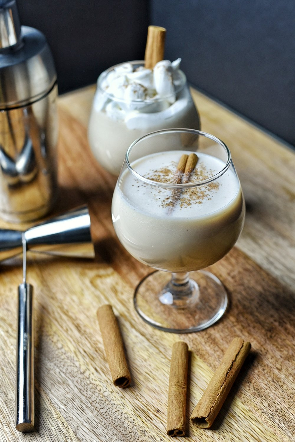 From Puerto Rico - The Cool Coquito Cocktail (recipe from Dude That Cookz) -