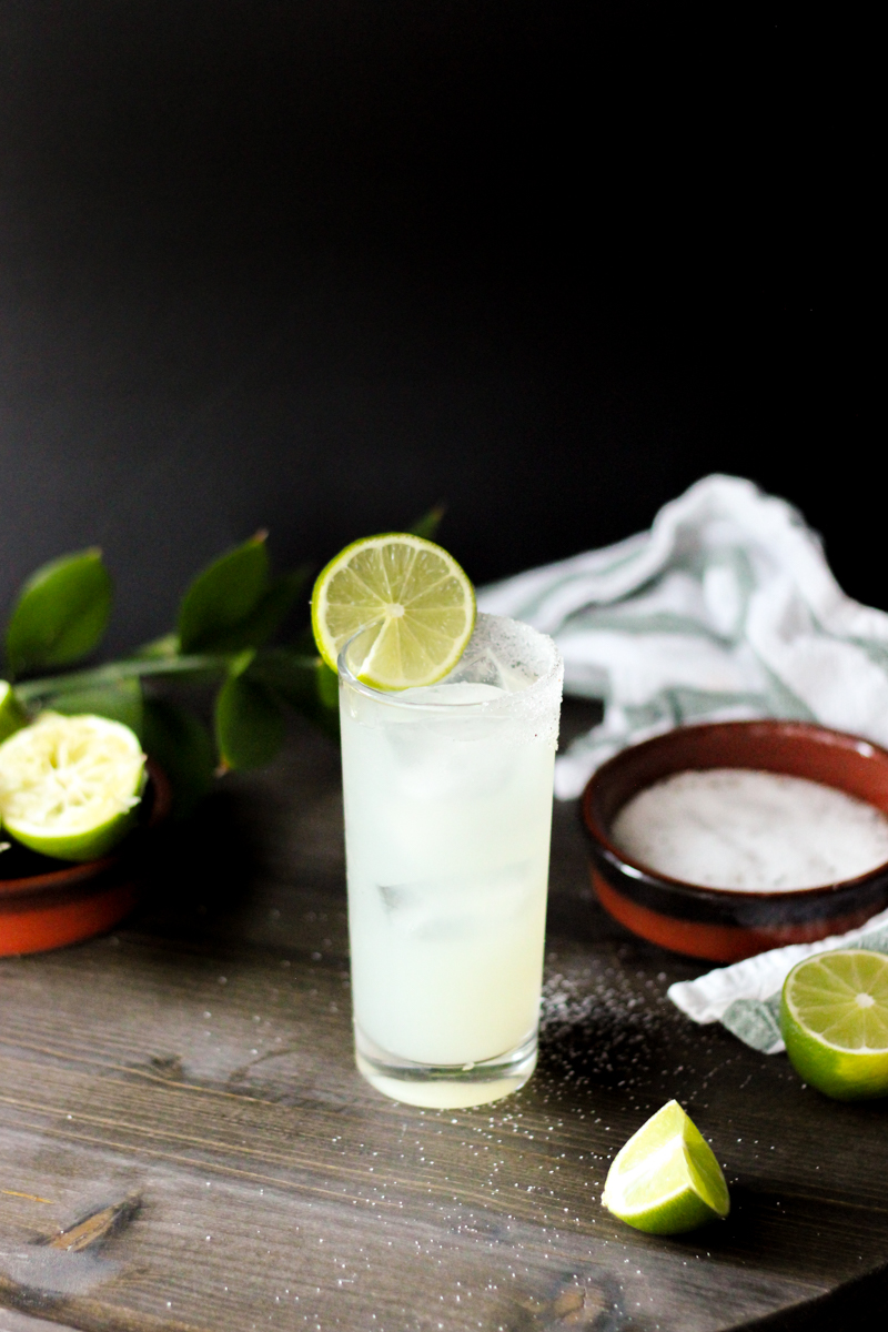 From Mexico - The Classic Lime Margarita (recipe from She Eats) -