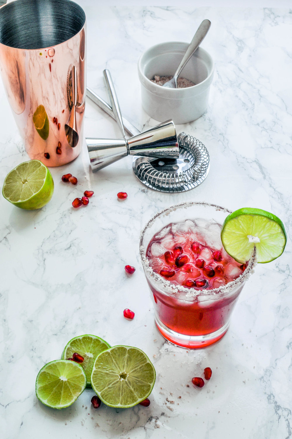 Pomegranate Margarita Recipe | This Healthy Table