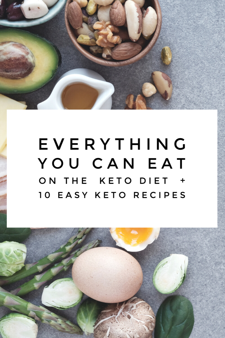 What's the Keto Diet & 10 Easy Keto Dinners