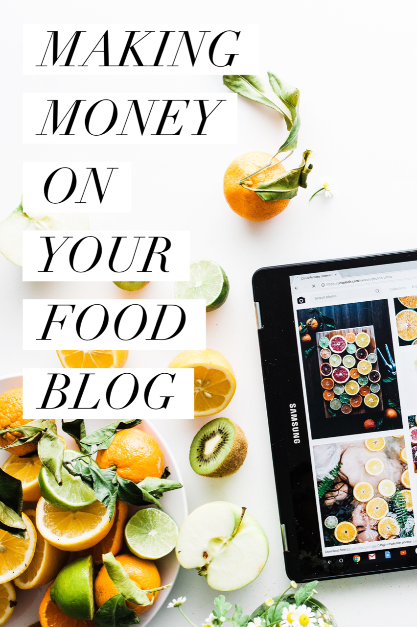 How to Make Money on Your Food Blog. Strategies to monetize your food blog and how to find revenue streams (information on ads, sponsored content, affiliated marketing, and more).
