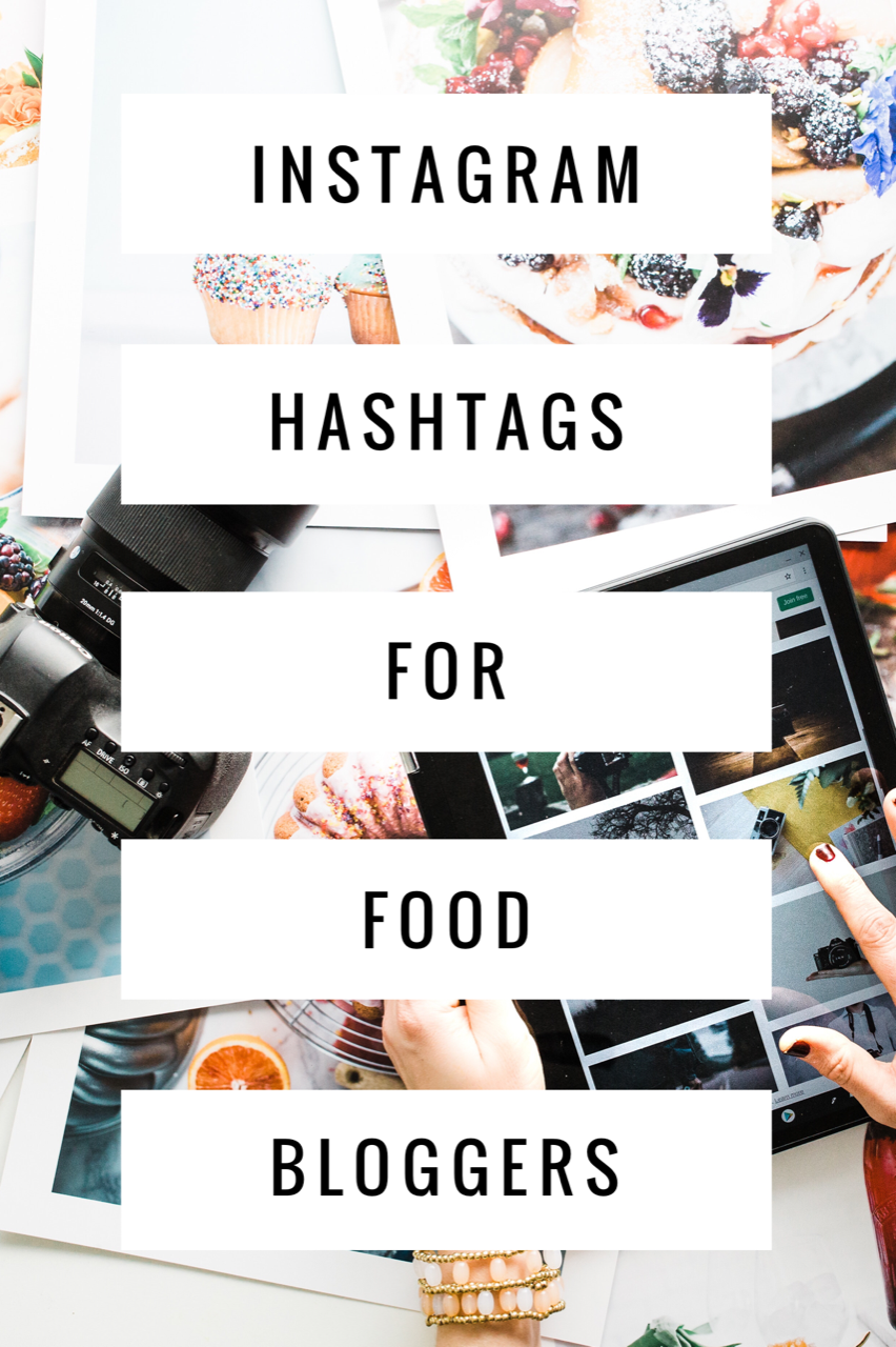 Instagram Hashtags for Food Bloggers. Lists of the best hashtags for food bloggers as well as tips on finding the right hashtags for your food photos.