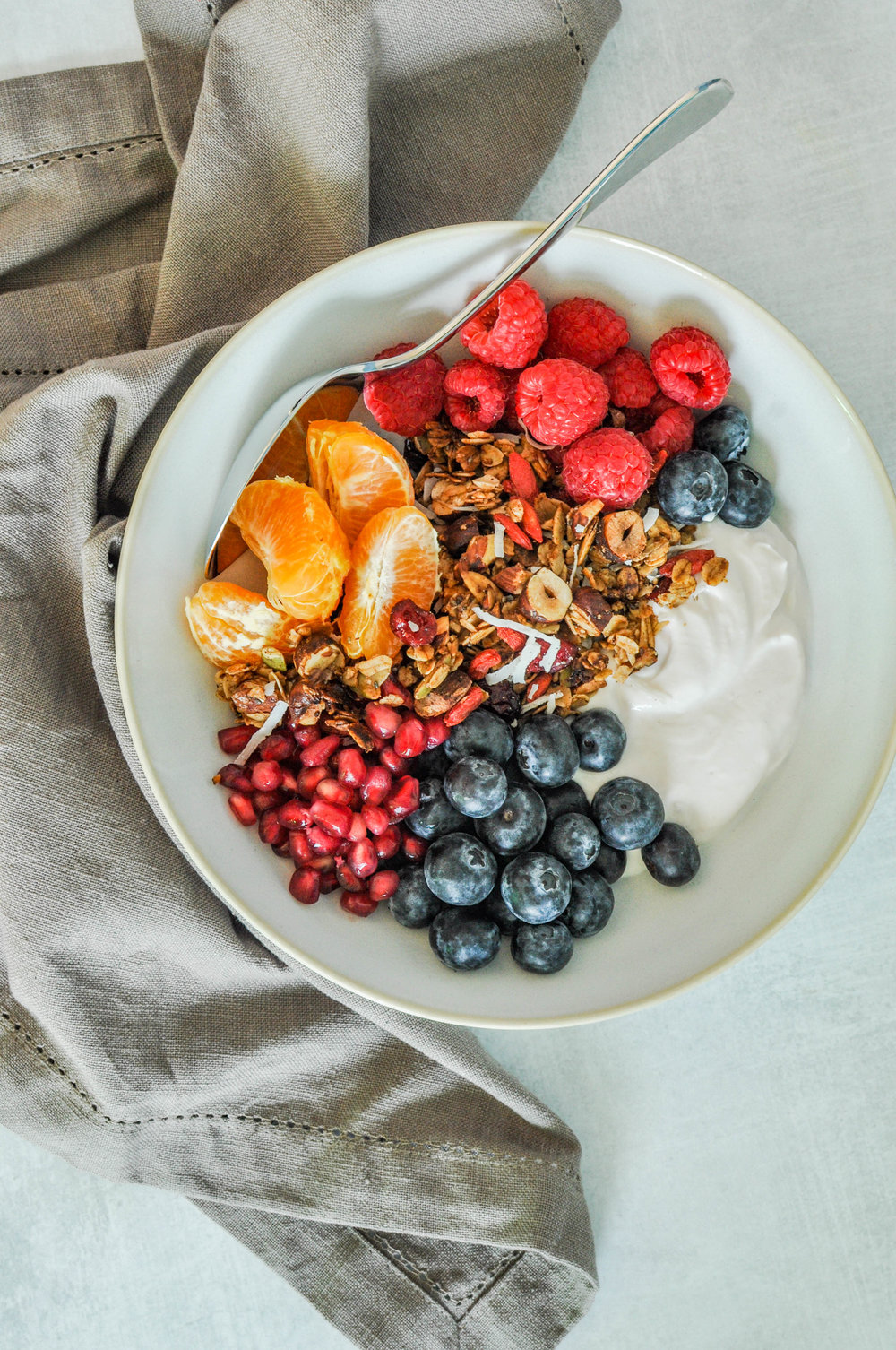 Best Ever Homemade Granola Recipe. This healthier, homemade granola is a delicious breakfast treat when served with yogurt and fresh fruit. It's ready in just 35 minutes!
