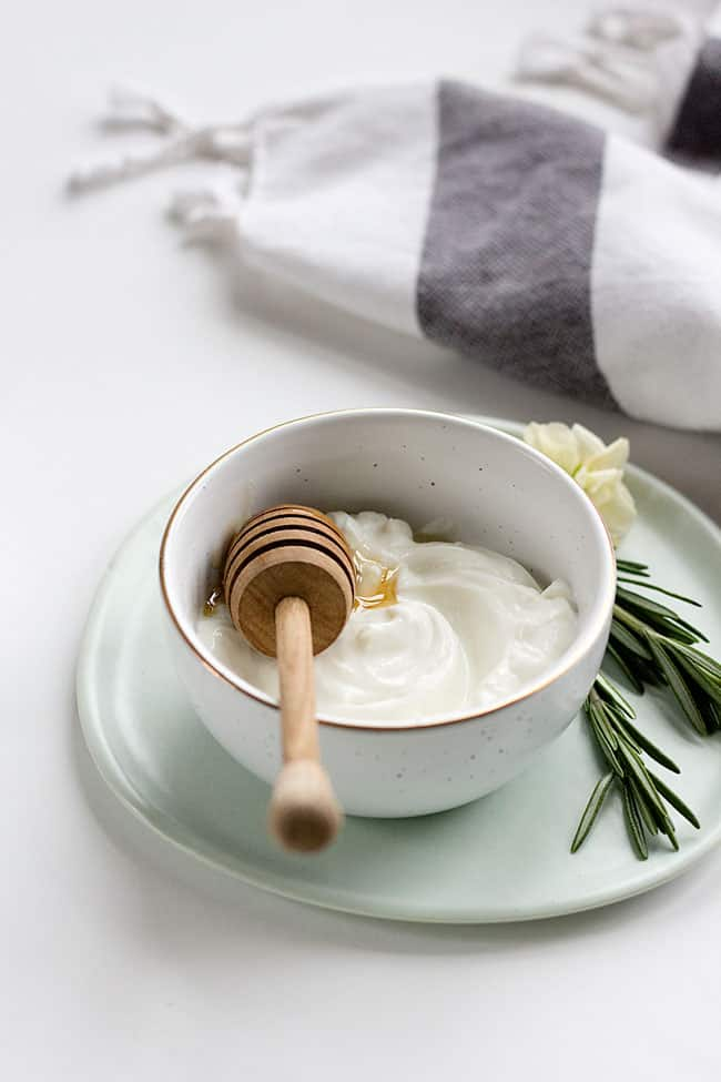 Organic Hair Mask. 50 Ways to Have a DIY Spa Day at Home
