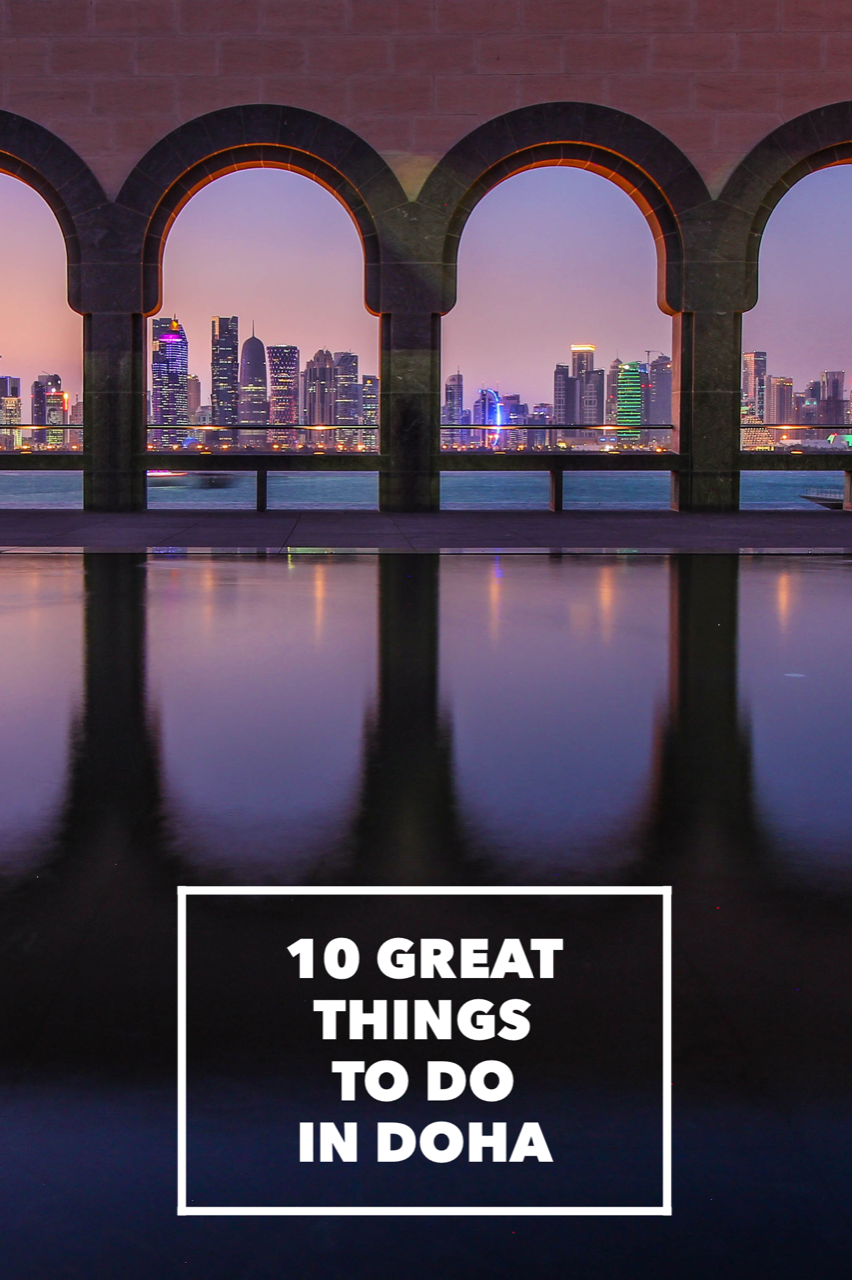 Wondering what's the best thing to see or do in Doha, Qatar? Here's a list of the 10 best things to do while you're in Doha! Including places to eat, museums to see, and cultural landmarks you won't want to miss.