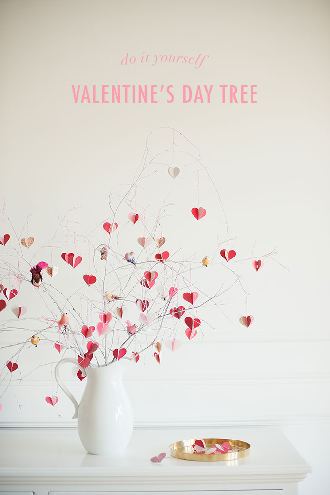 DIY Valentine's Day Tree from The House Lars Built