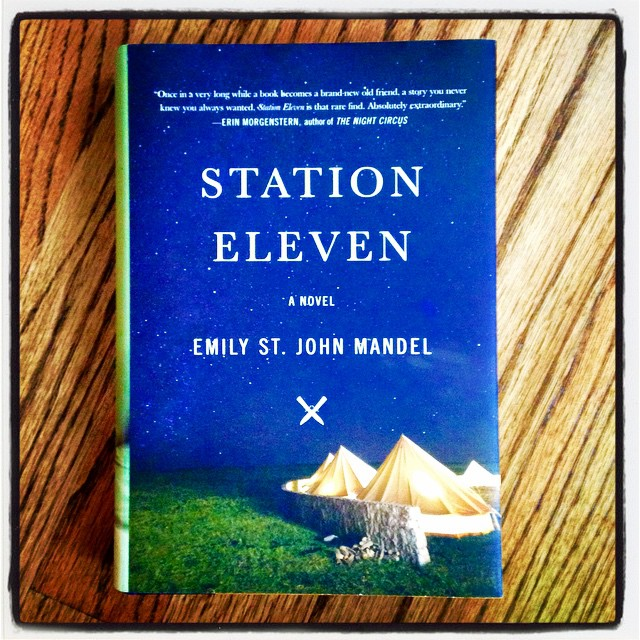 Thanks @ParnassusBooks1 #1stEditionClub for @EmilyMandel STATION ELEVEN, easily my favorite book of the year! #MustRead