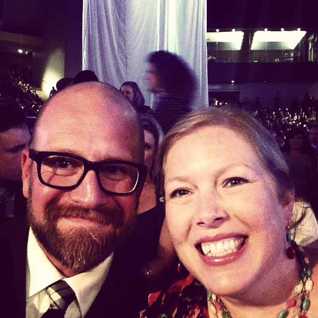 Karin and I had a great time at the #DoveAwards - awesome performances!