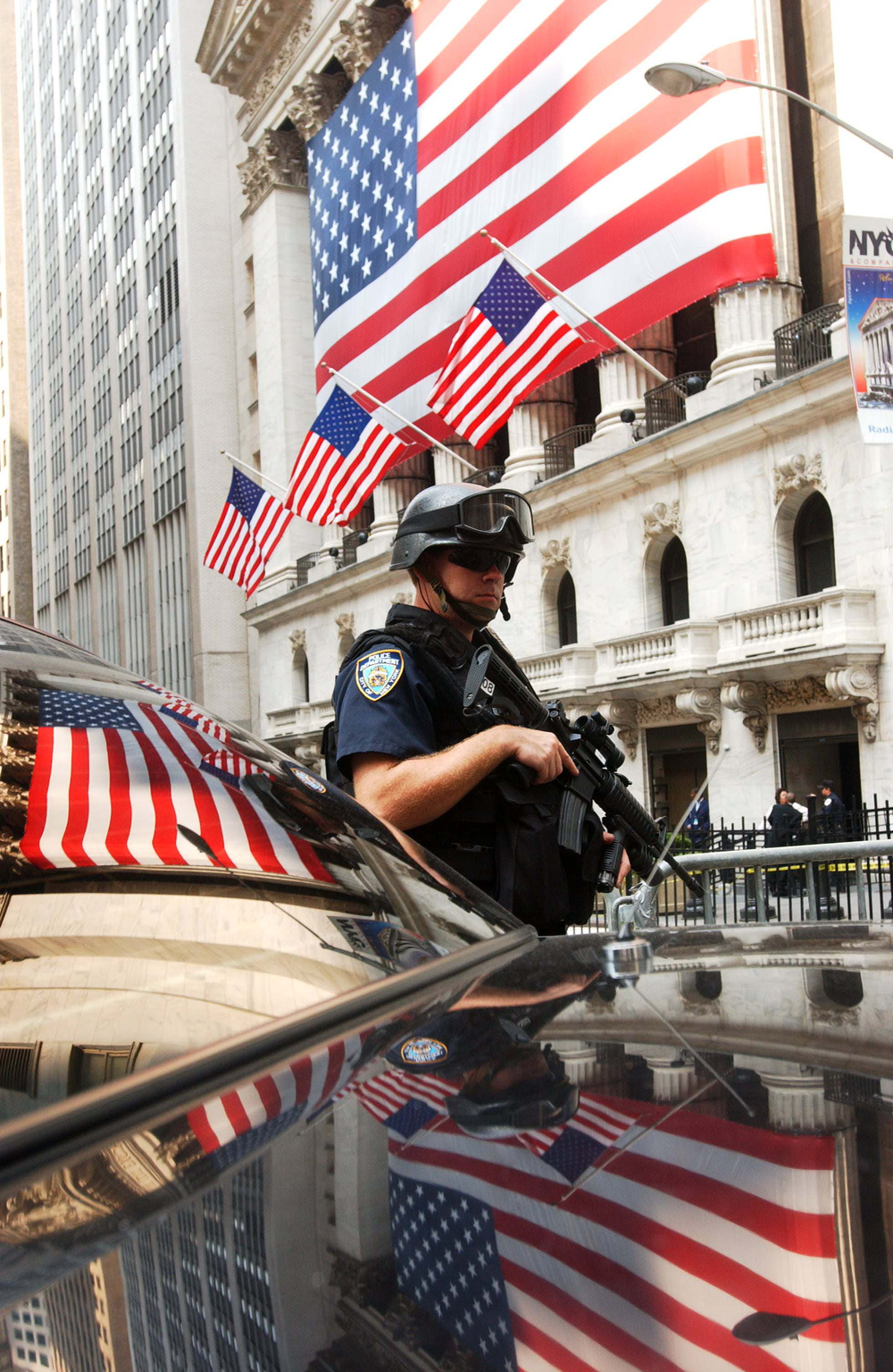 Hightened Security on Wallstreet