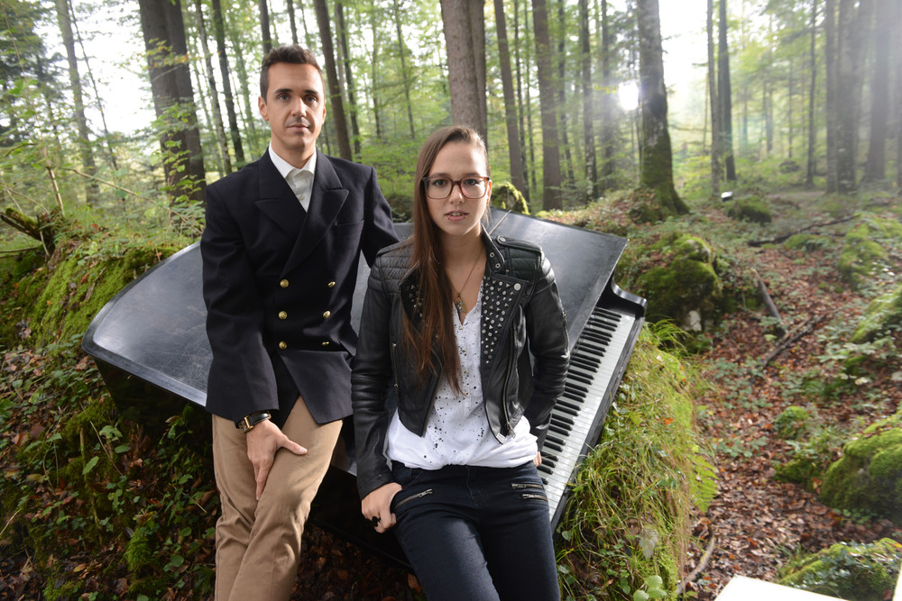 Seven and Stefanie Heinzmann