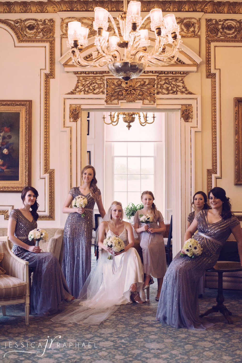 Now this is an example of one of the rare occasions I will completely pose. I felt that with the Great Gatsby style & the look of this venue, it would work to create some 'Vogue' esque shots & these ladies were up for it!