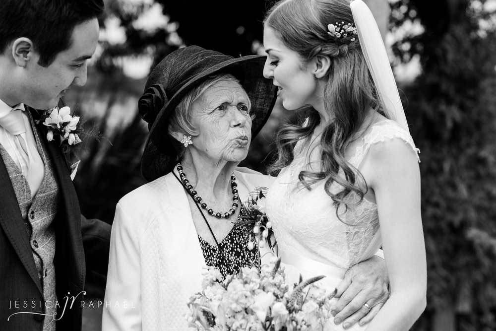 My favourite kind of family photos. I kept shooting whilst they were getting into position standing next to each other. Captured Sarah's Nan's personalilty & love for her granddaughter.
