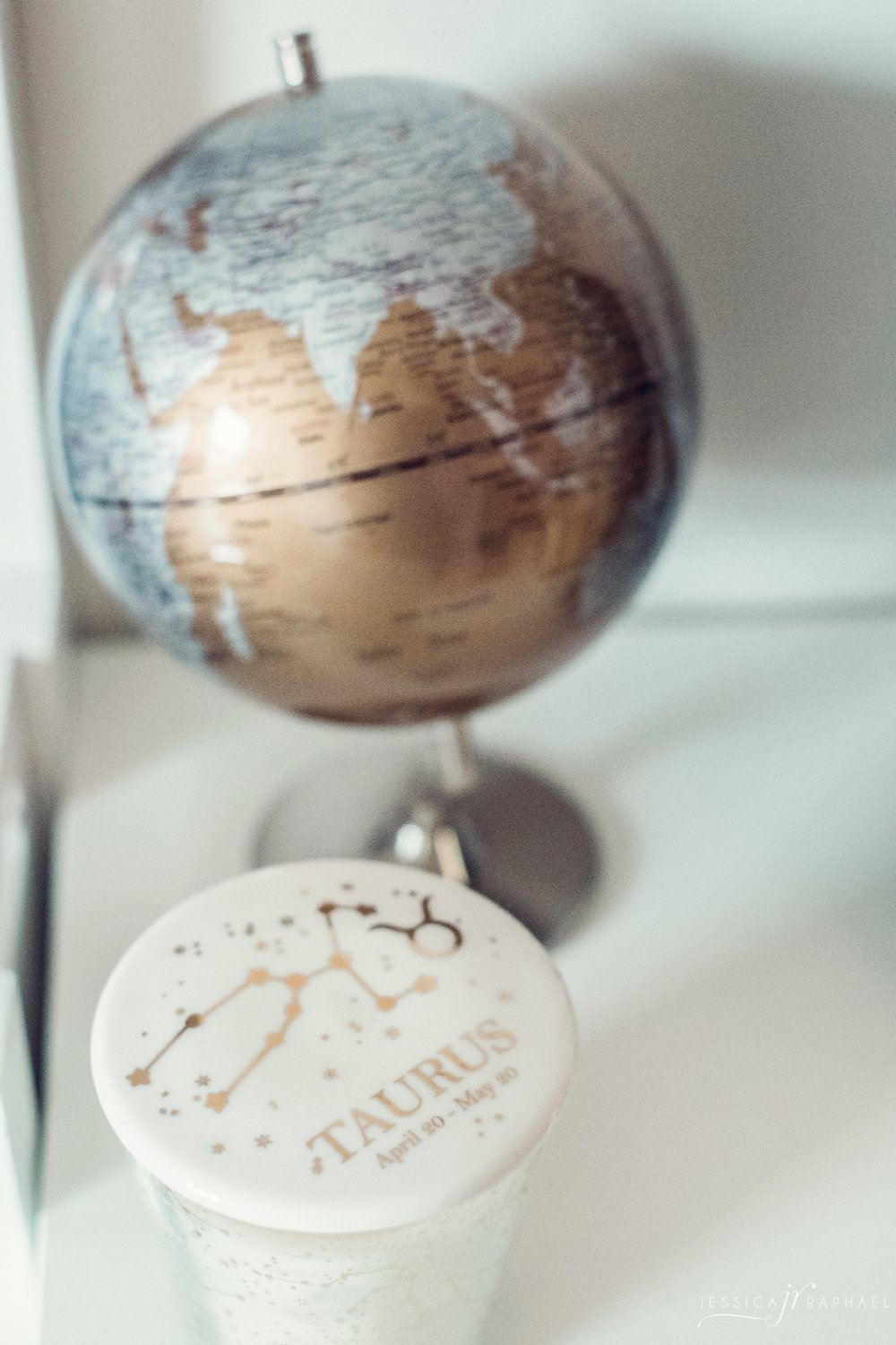 All entrepreneurs should have a globe on their desk. Seriously.
