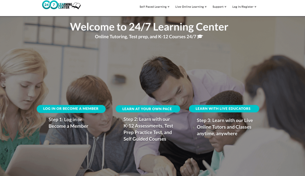 An online learning platform and marketplace for supplemental education services