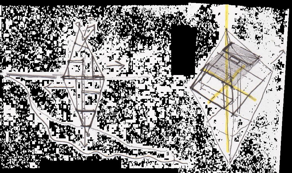ArchTriumph Treehouse - Concept Sketch