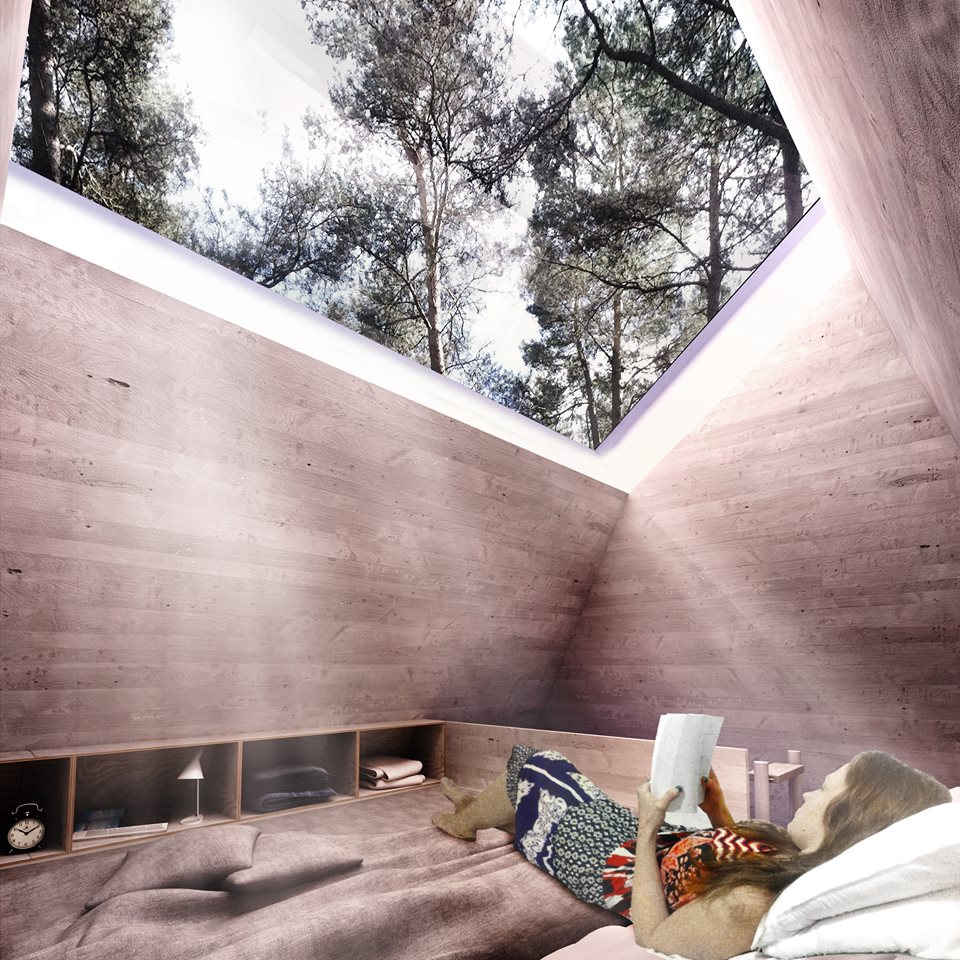 ArchTriumph Treehouse Competition Interior