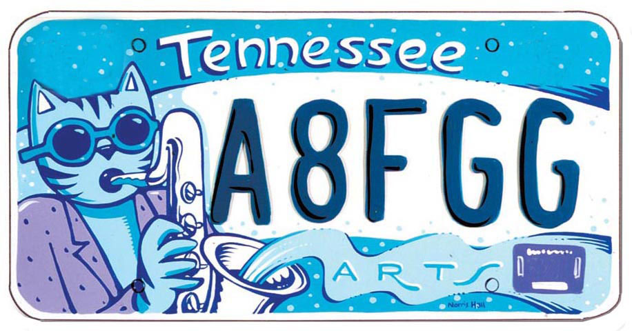Did you know that when you buy a specialty license plate for $1 more than a regular license plate, that dollar goes to support the arts in Tennessee?