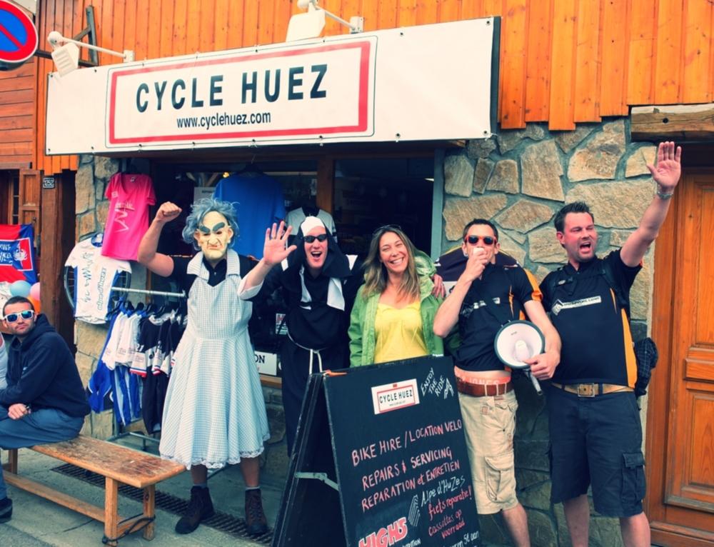 Alpe D'Huzes 2013!