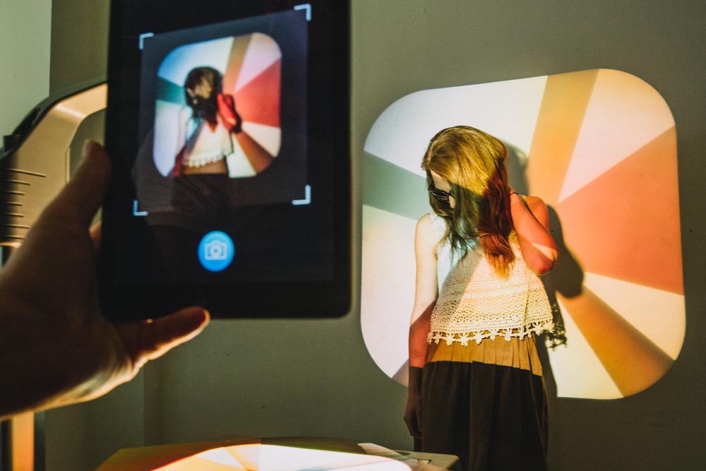 Social Media Projector