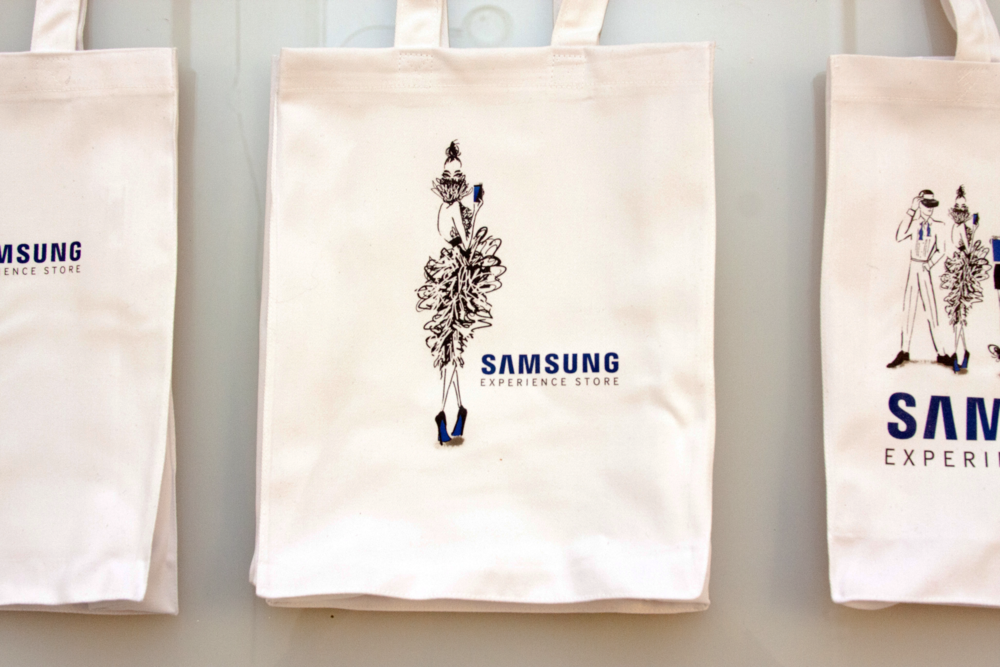 Live Custom Made Tote Bags