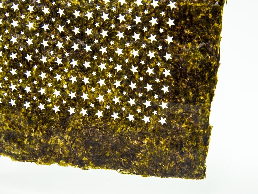 Laser Cut Nori Laser Cut Seaweed