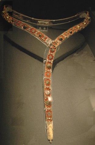 14th century plaque belt, France