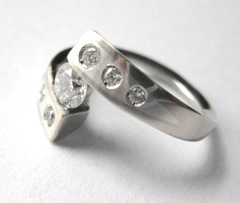 Diamond Connection ring