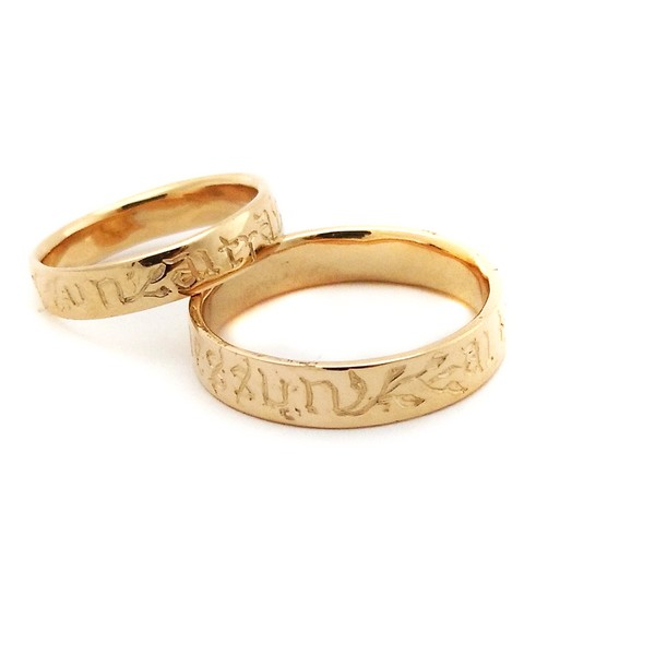 custom medieval wedding rings - Medieval Wedding Rings