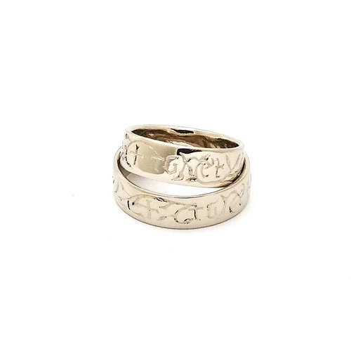 reproduction medieval wedding rings - Medieval Wedding Rings