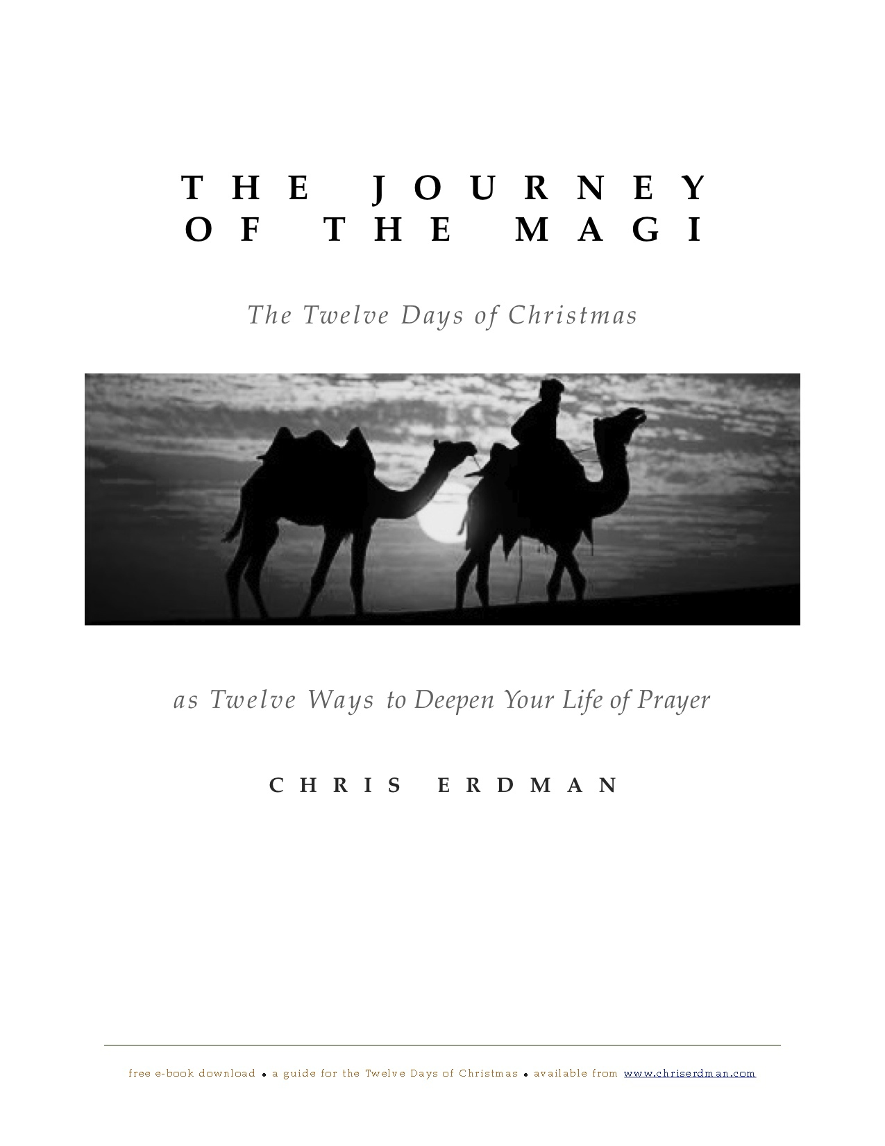 Journey of the Magi, e-book, cover
