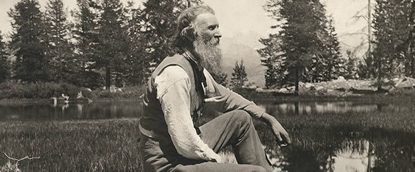 John Muir in Yosemite (1838-1914)