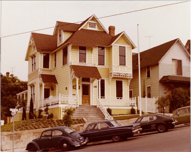 During renovation, circa 1975