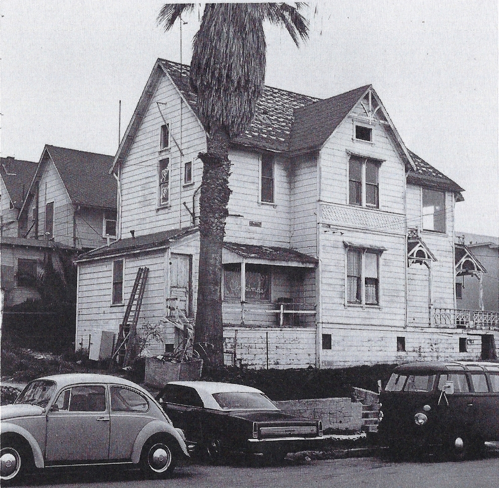 Prior to renovation, circa 1974