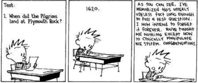 Calvin sums up how we sometimes get education oh so wrong! Read on to find out how we're doing things differently at Campaign Bootcamp.