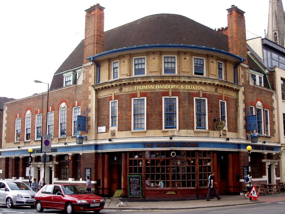 TheRose and Crown Pub, Stoke Newington