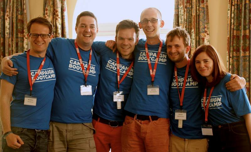 The founding team at Bootcamp 1 - friends forever :)