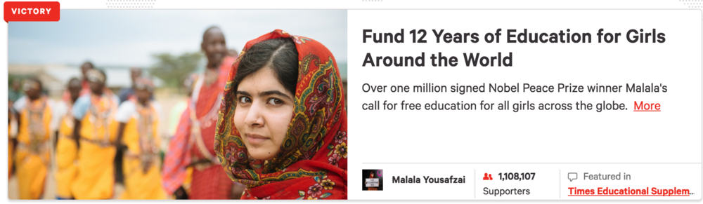 malala picture example