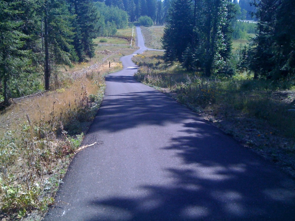 One of the trails I am blessed to get to run.