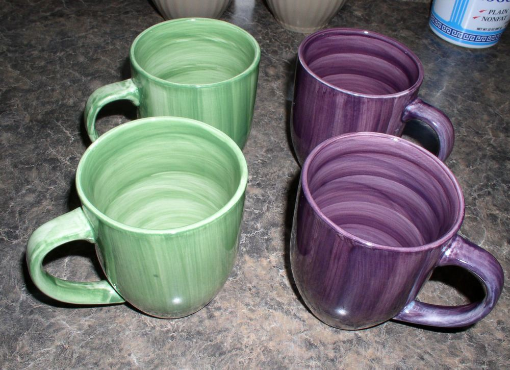 More colorful mugs